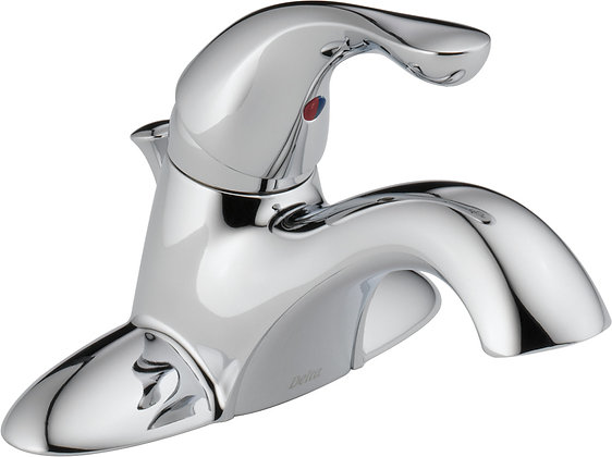 DELTA Bathroom Tub Faucet With Metal Pop Up Drain
