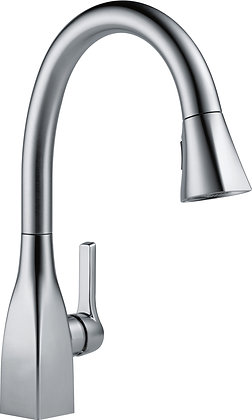 DELTA Single Handle Pull-Down Kitchen Faucet - Artic Stainless