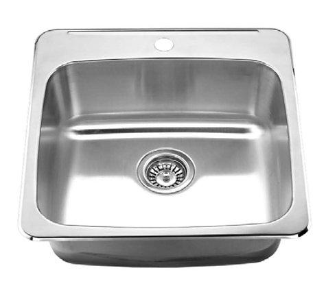 ML2020-8-20 Single Bowl Top Mount Kitchen Sink