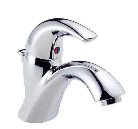 583LF-WF Classic 1 Lever Handle Chrome Bathroom Lav Faucet