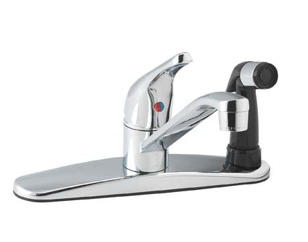 Mainline Kitchen Faucet Single Handle with Spray
