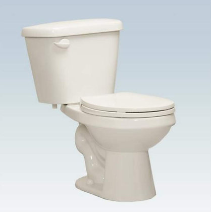 B822-3 Aris Closet Bowl White