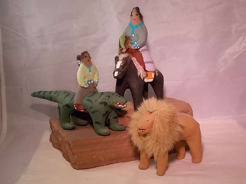 Navajo Mud Toys Folk Art