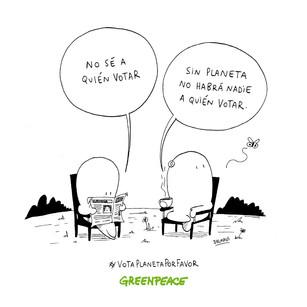 Greenpeace - VotaPlaneta