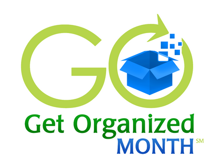 January is Get Organized (GO) Month