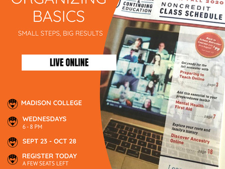Live online course starts Sept 23