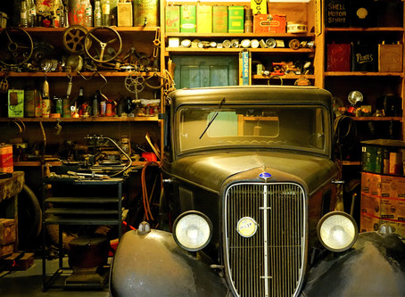 3 steps to an organized garage