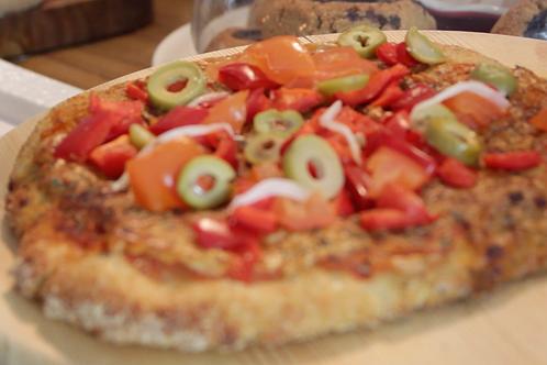 Vegan Kamut Pizza