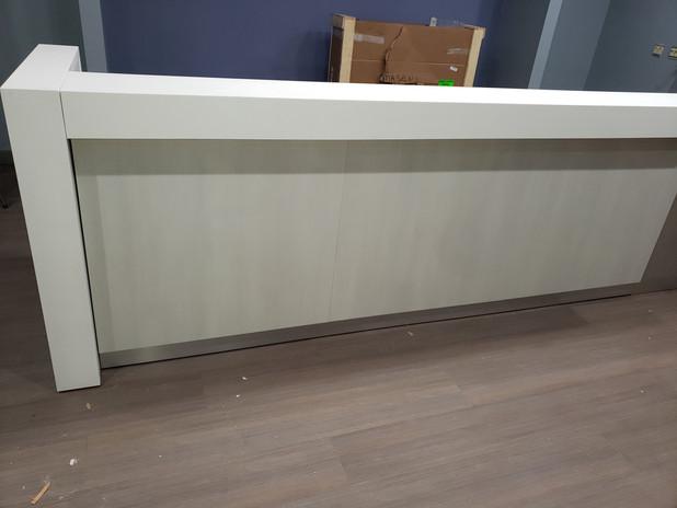 Front of the New Massage Envy Desk