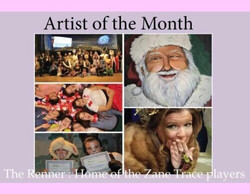 August 6 - Renner is Artist Colony's ARTIST OF THE MONTH