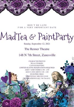 Mad Tea & Paint Party
