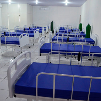 Covid-19: Sinop monta Hospital de Campanha