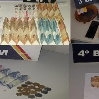Em ronda e por denúncia, PM localiza droga com seis pessoas em três cidades de MT