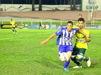 Sinop perde de virada para o Luverdense no Campeonato Mato-grossense Sub-17