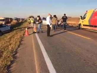 FATAL: Grave acidente na BR 163 deixa dois mortos; Uma das vítima seria uma pessoa de apenas 20 anos