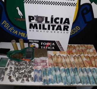 TRÁFICO NA COHAB: Suspeitos são presos por tráfico de drogas em conjunto habitacional