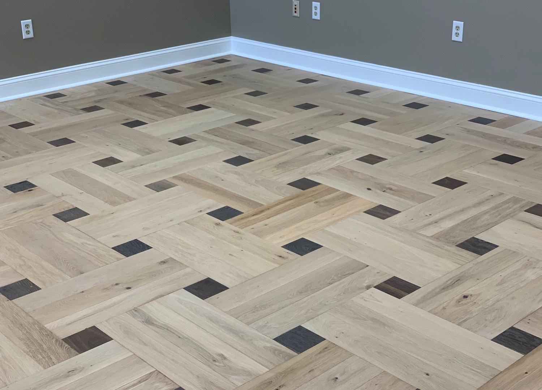 Engineered patterns installation done