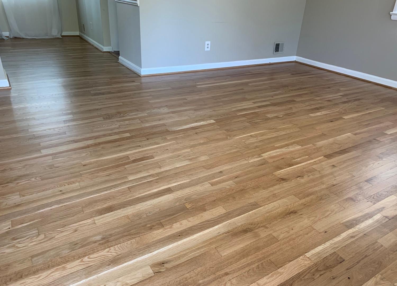 White oak floor