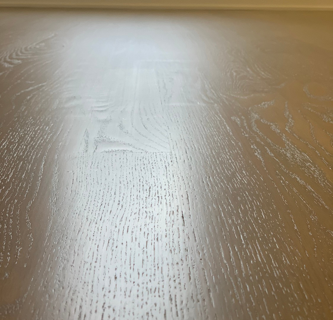 Red oak floor color mix