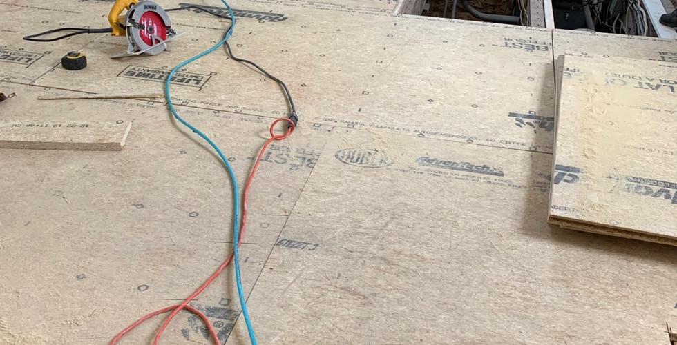 Subfloor repair process