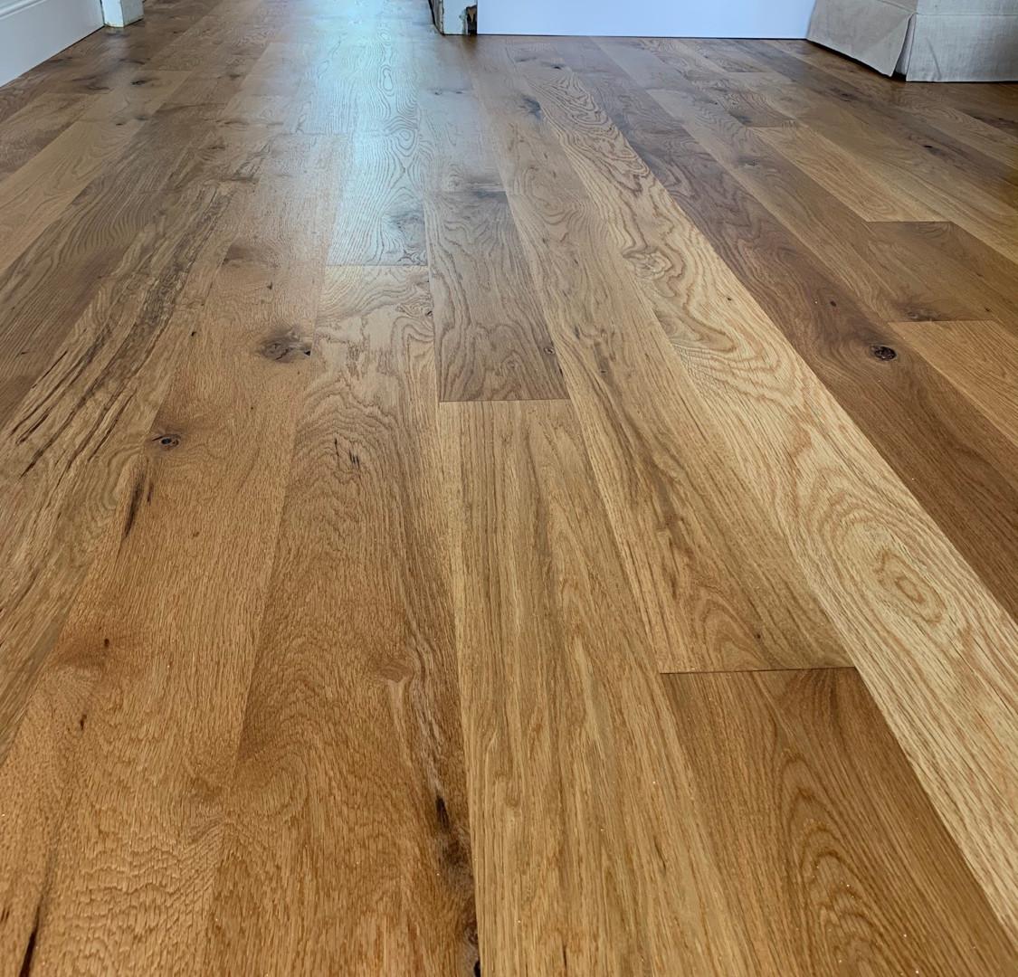 Rustic white oak with magic oil 2k finish