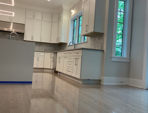 Red oak floor stain mix