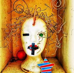Mute  #art #sculpture #modernart #head #