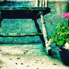 Front Porch Musings  #rockingchair #porc