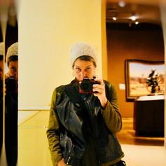 Self Portrait #boothmuseumofwesternart #