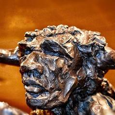 The Creature Rides A Mount  #sculpture #