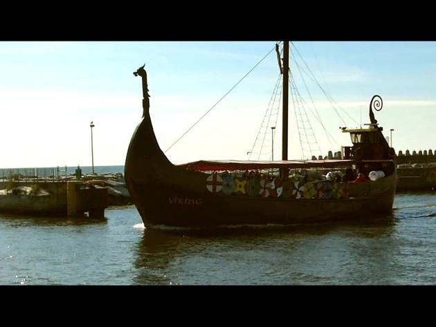 Montaż filmu z Kołobrzegu
