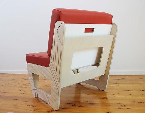 Bespoke, Custom, Furniture, Single seat lounge chair,