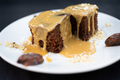 Desserts - Drizzle Date Cake