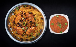 Mains - Rice-Based Dishes - Kabseh & Kabseh Sauce