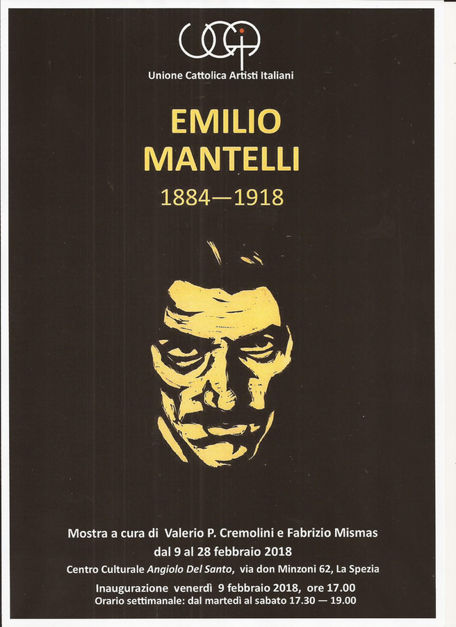 EMILIO MANTELLI mostra a cura di Valerio P. CREMOLINI e Fabrizio MISMAS