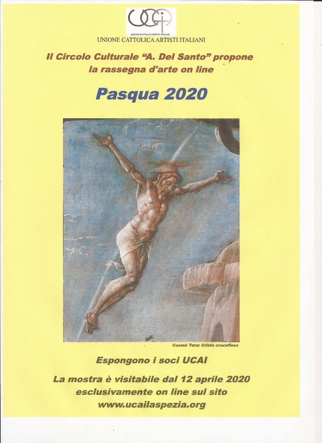 PASQUA 2020 In occasione di queste insolite festività pasquali,vissute nell'ansia del domani e n