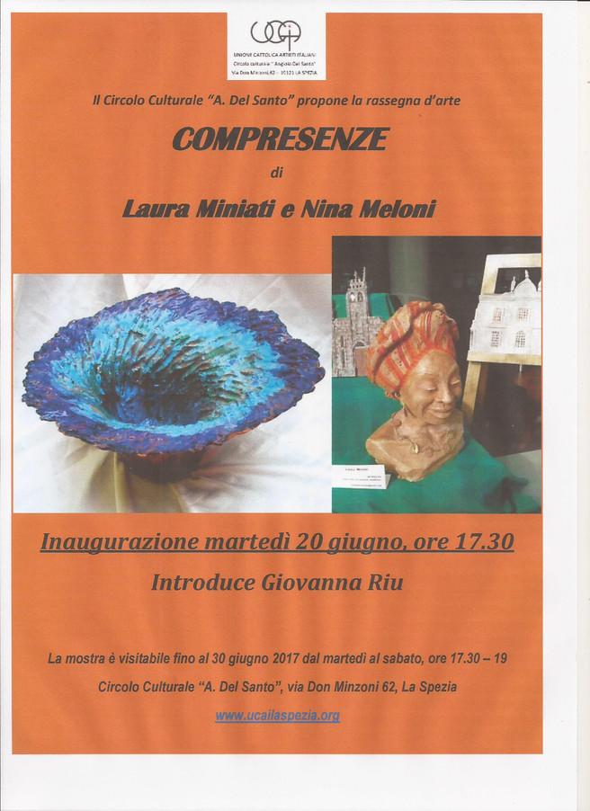 COMPRESENZE                                            di Laura MINIATI e Nina MELONI