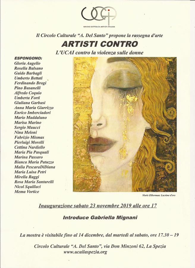 ARTISTI CONTRO