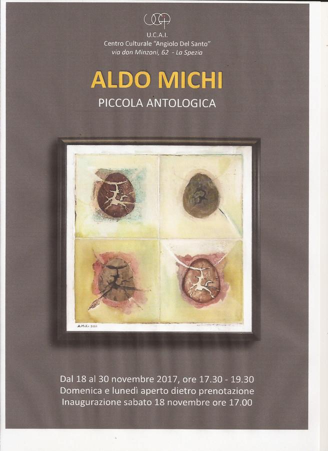 PICCOLA ANTOLOGICA personale del pittore Aldo MICHI