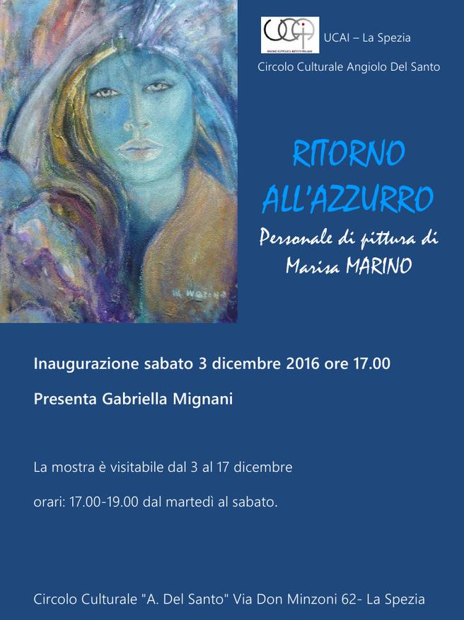 RITORNO ALL'AZZURRO                    presenta Gabriella Mignani