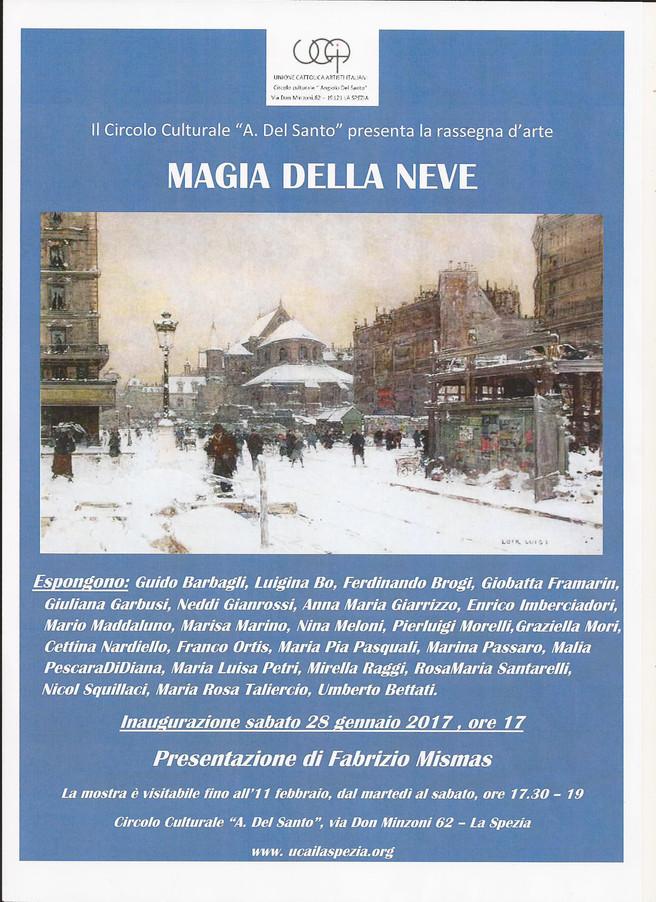 MAGIA DELLA NEVE                                                   presentazione  Fabrizio MISMAS