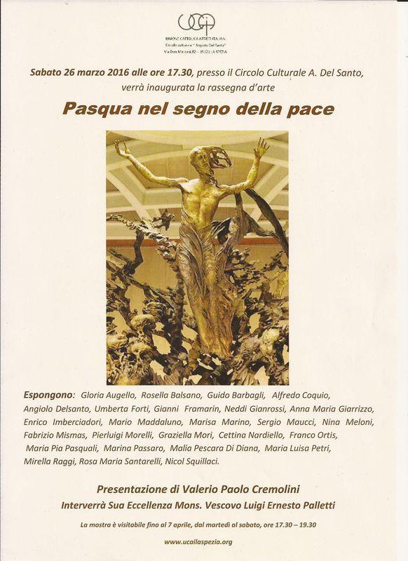 PASQUA NEL SEGNO DELLA PACE   presentazione di Valerio Cremolini