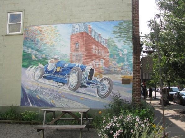 Robert Gillespie Mural in Watkins Glen