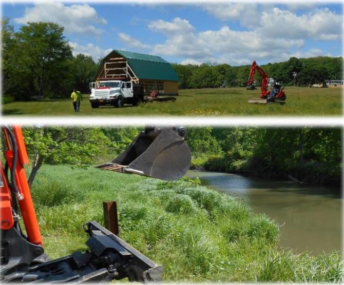 Creekside Center Dock Installation is Under Way!