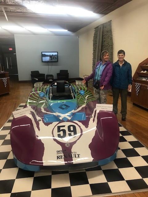 Deb and Pat with Deb's Dream Car!