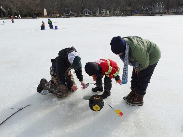 Ice Fishing On Honeoye