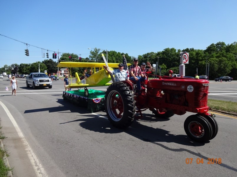 Forth of July Parade in Canandaigua