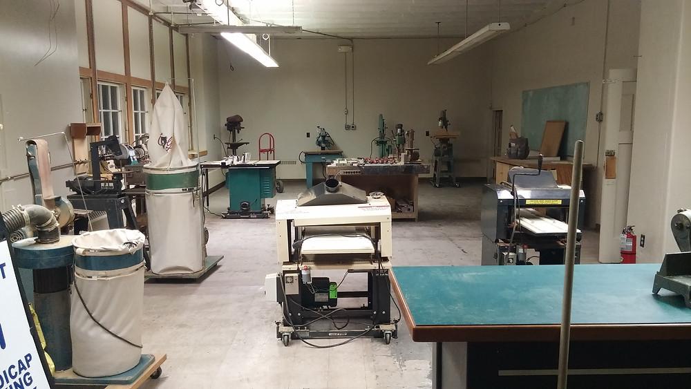 Wood Shop at the LLCA