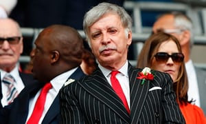 Usmanov out..Kroenke in? What does Stan Kroenke have in store for the Gunners