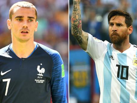 France v Argentina: Last 16